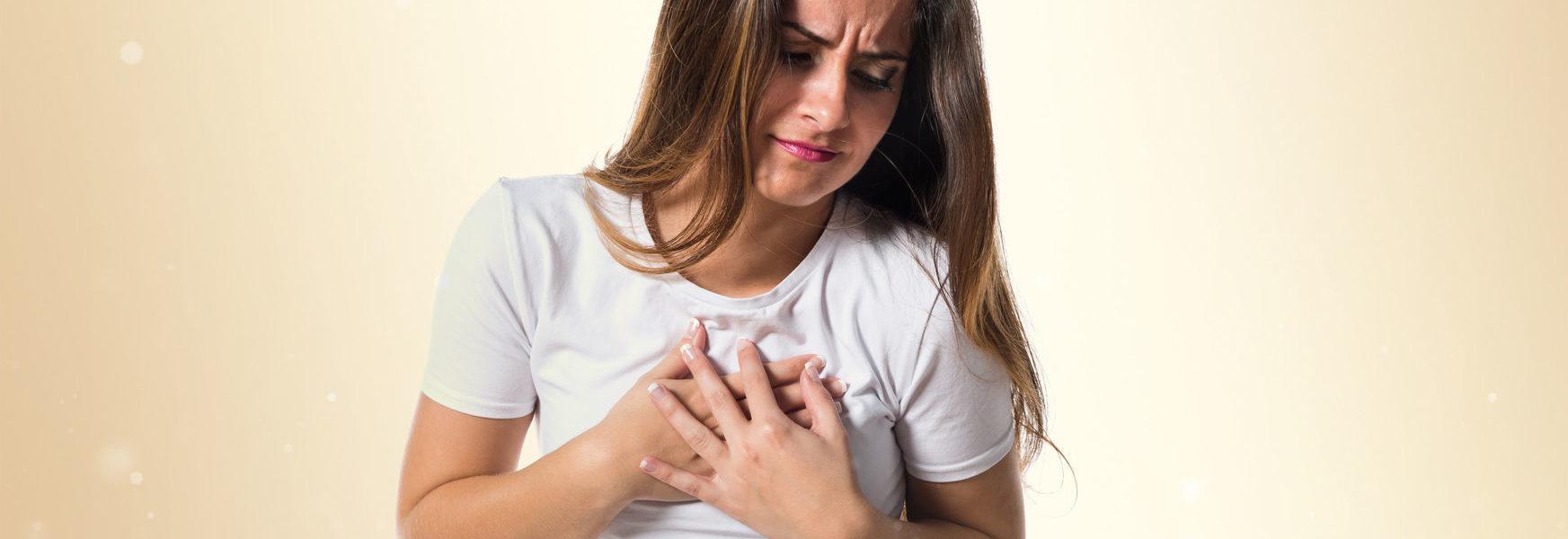 Ощущение сердцебиения.Симптомы и лечение.